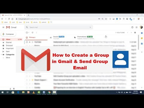 How to Create a Group in Gmail & Send Group Email to Your Contacts Easily