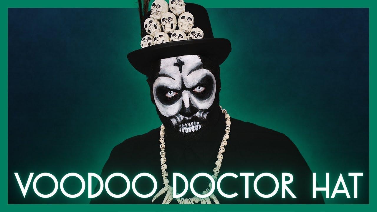 VOODOO DOCTOR HAT (PAPA LEGBA) Tutorial | Alejandro