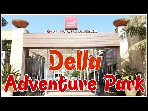 Della Adventure Park | Lonavala | India's Largest Flying Fox | Bungee Jumping | Adventure in India.
