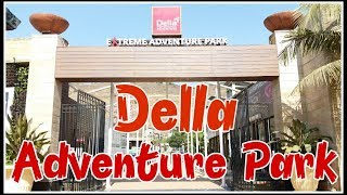 Della Adventure Park | Lonavala | India's Largest Flying Fox | Bungee Jumping | Adventure in India.