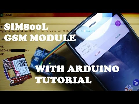 SIM800L With Arduino Tutorial. How To Send, Receive SMS And Make A Call.