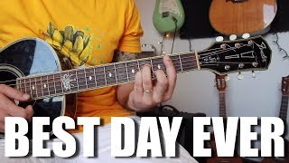 Best Day Ever - Mac Miller - Guitar Tutorial with play-along and lyrics