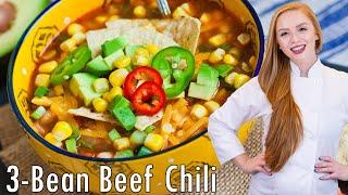 3-Bean Beef Chili