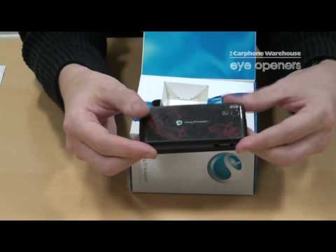 What's in the box of the Sony Ericsson Aino
