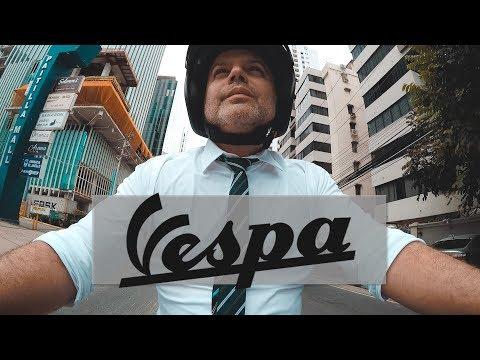 Paseo MUY COOL en VESPA por Ciudad de PANAMÁ #Vespa #Travel #Panama