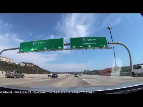 I-5 South Del Mar Heights to La Jolla, CA