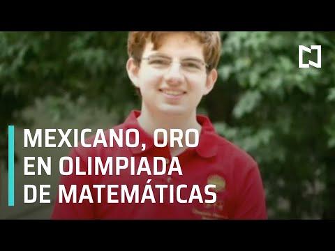Joven mexicano gana oro en Olimpiada Internacional de Matemáticas - Despierta