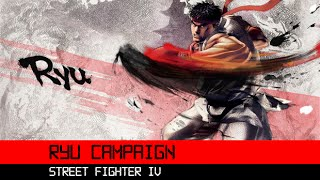 Super Street Fighter IV Ryu Campaign 3DS HD Gameplay Walkthrough