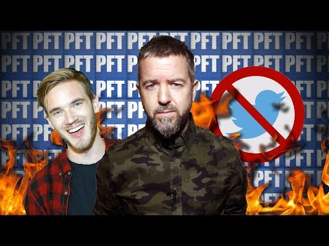 "Pewdiepie DELETES Twitter Account Calling It A ""CESSPOOL of Opinion"" - The Exodus BEGINS!!!"
