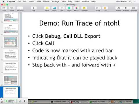 CNIT 126: Practical Malware Analysis -- Sam Bowne