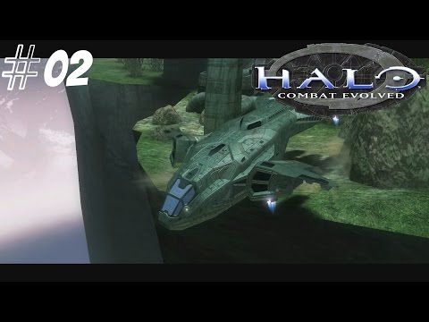 Let's Play Halo Combat Evolved SPV3 Part 2 Marine Resuce