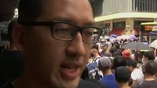"""香港""""反送中""""示威进入第十三周 基督徒走上街头"""
