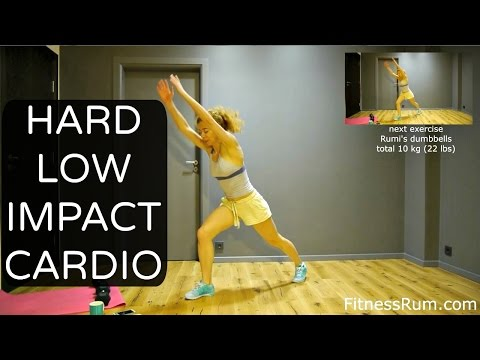 RU46 Advanced Level Low Impact Workout 30 Minute Easy On Knees Exercises Level3