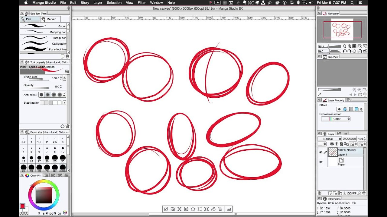 SivamStudios 001: Warm-Up Drawing Exercises to Improve Line