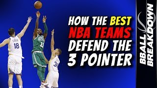 How The BEST NBA Teams Defend The 3 POINTER