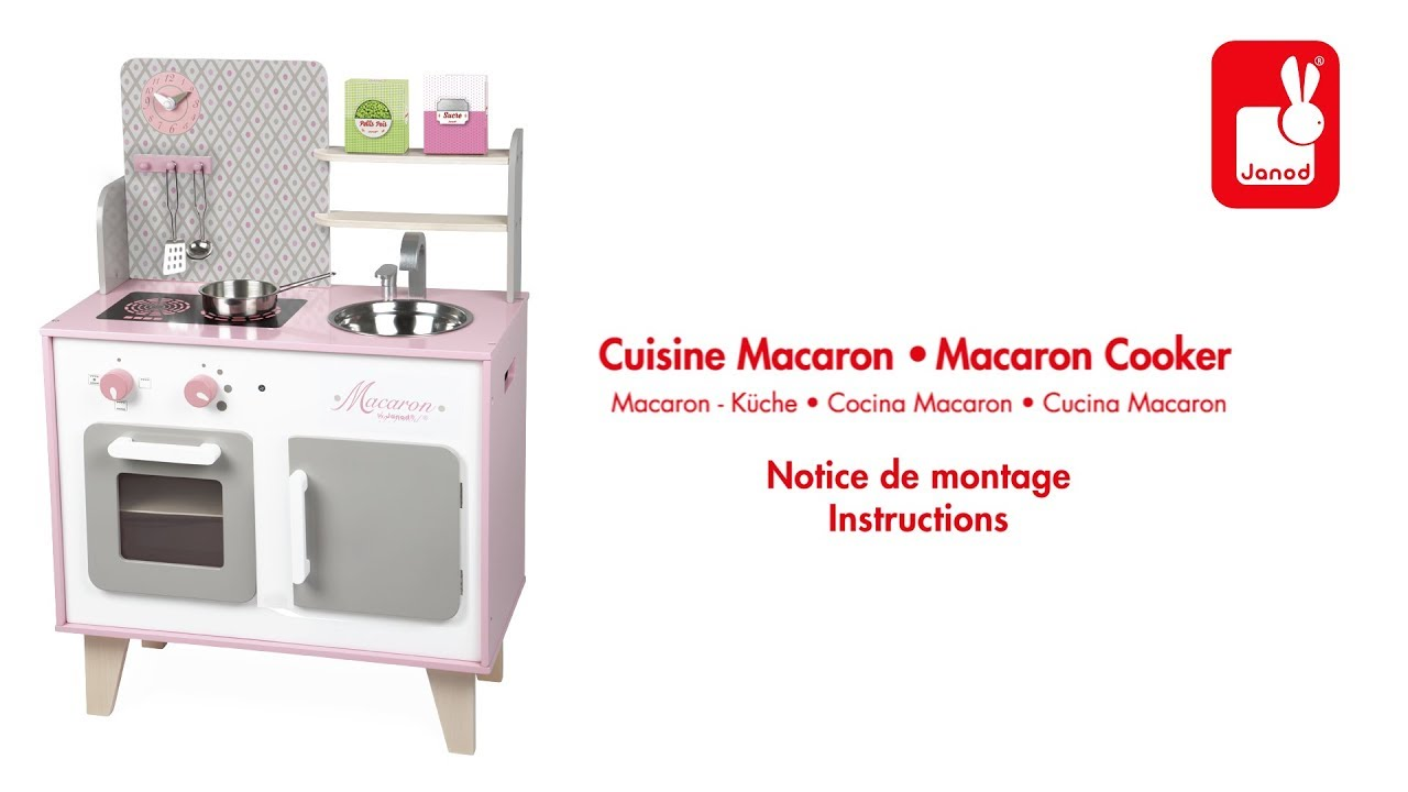 Cuisine Macaron Janod Notice De Montage Youtube