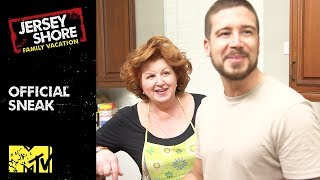 'Vinny's Mom's Surprise Dinner' Official Sneak Peek | Jersey Shore: Family Vacation | MTV