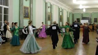 Ланце (Сеньоры) (2) Конкурс исполнителей отечественных бальных танцев