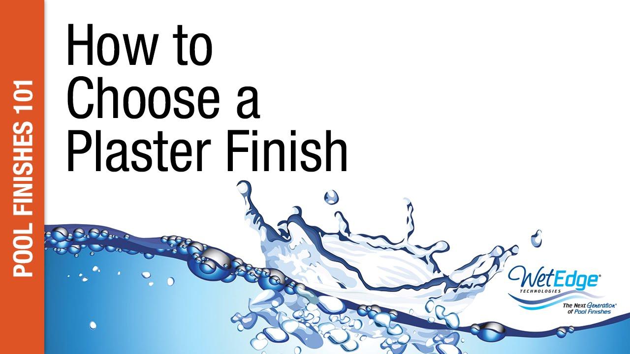 Choosing a plaster plaster