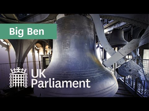 The chimes of Big Ben
