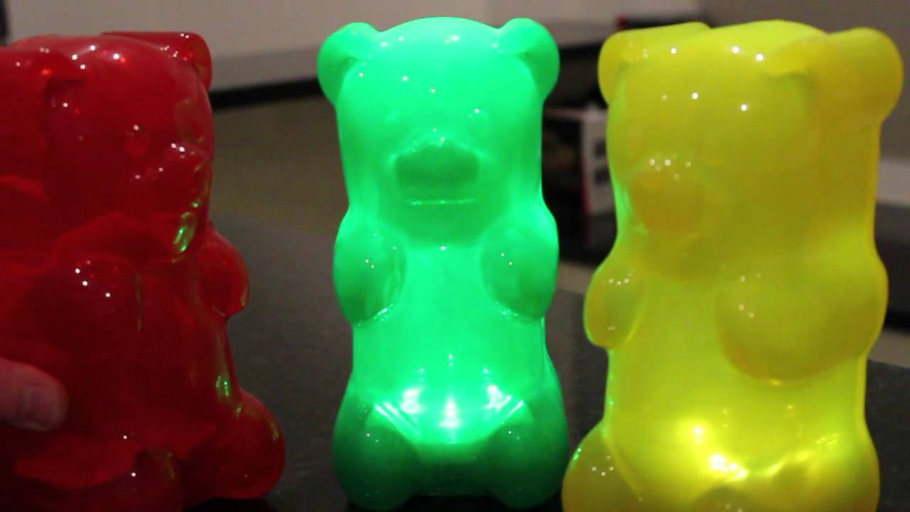 Gummy bear lamps youtube arubaitofo Image collections