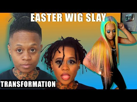 TRANSFORMING FROM MASCULINE TO FEMININE + COCO VOICEOVER (HILARIOUS) EASTER EDITION