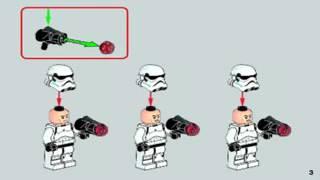 Инструкция как собрать лего STAR WARS
