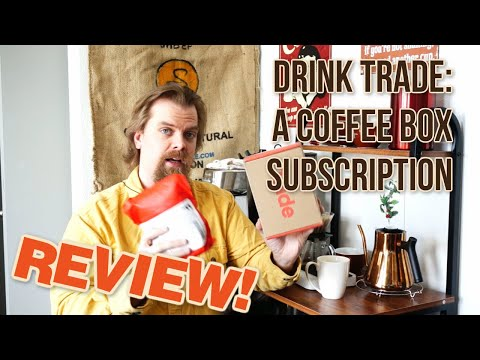 Drink Trade - A Coffee Subscription Review