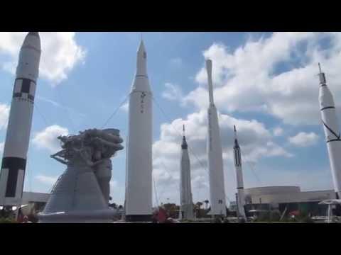 Rocket Garden at Kennedy Space Center, Florida
