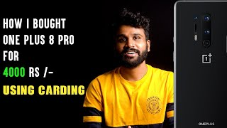 How I Bought One Plus 8 PRO only for 3000 rs Using Carding Method | Explore With Saravanan