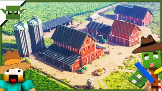 Minecraft Farm Simulator ? Inspiration Series - /w Keralis