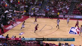 Quarter 3 One Box Video :Grizzlies Vs. Heat, 7/14/2017