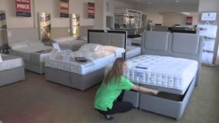 Hypnos Super Storage Ottoman Bed