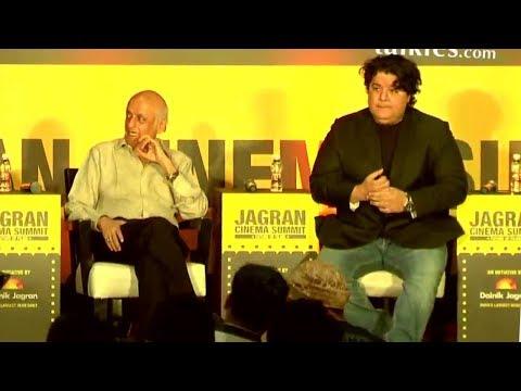Mukesh Bhatt & Sajid Khan At Jagran Film Festival Panel Discussion For Future Of Cinema