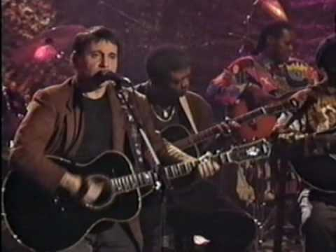 Paul Simon 1992 Unplugged MTV