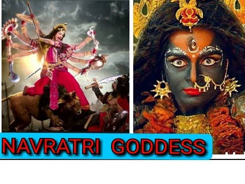 NAVRATRI 2019/ NINE FORMS OF GODDESS DURGA / DUSSEHRA 2019 / Iconic