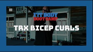 How Should You Perform A TRX Bicep Curl? - Trainer Tips