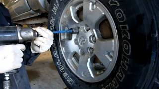 N.J. Lesson Of The Day: Tightening lug nuts properly