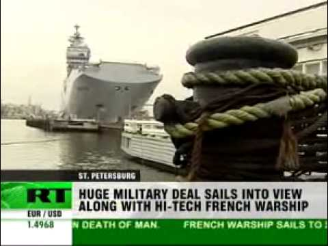 Millions of euros at stake over French helicopter carrier ship deal