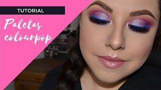 Maquillaje paso a paso con paletas colourpop