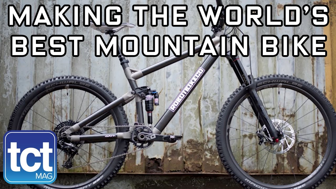Making the world's best mountain bike | Robot Bike Co | TCT Show