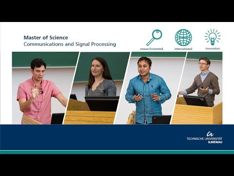 Master of Science: Communication and Signal Processing
