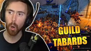 Asmongold Hands Out Olympus Guild Tabards To A TON OF NEW RECRU TS