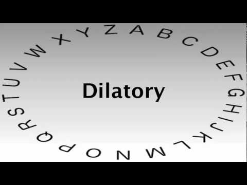 Awesome SAT Vocabulary Words And Definitions U2014 Dilatory