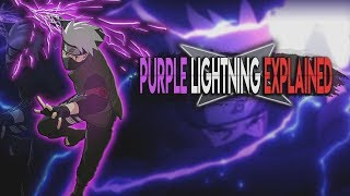 Kakashi's Purple Lightning Jutsu Explained!