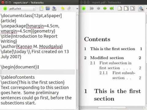 Report Writing - English