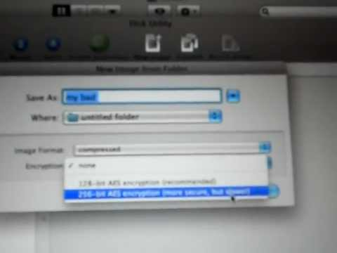 how to add password to the folder in mac