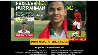 3 Pemain Timnas U16 Berdarah Minang