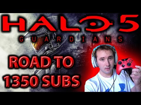 ROAD TO 1350 SUBS! 🔴 LETS GET LIT! HALO 5! #1 MOST INTERACTIVE STREAMER!