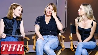 Emma Stone Plays 'How Well Do You Know?' With Rachel Goodwin & Mara Roszak | THR Beauty Issue 2016